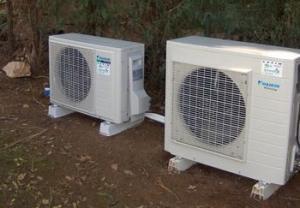 Pompe chaleur air air pose pac air air nice 06 - Pompe a chaleur monobloc interieur ...
